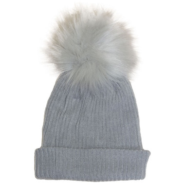 Calikids Cashmere Touch Slouch Hat Grey