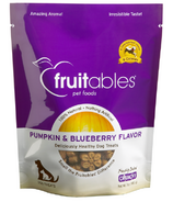 Fruitables Crunch Dog Treats Pumpkin & Blueberry