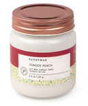 Paddywax Happy Ginger Peach Soy Wax Candle Jar