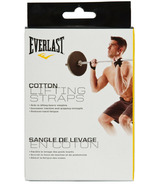 Everlast Cotton Lifting Straps
