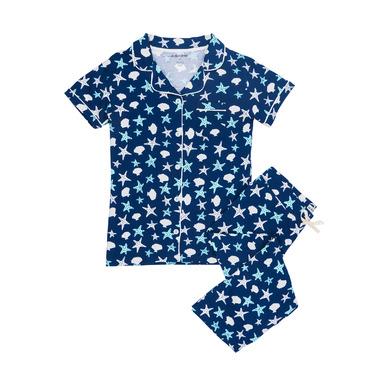Little Blue House Shells Women\'s PJ Set