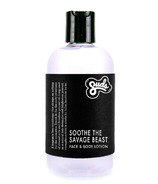 Sudsatorium Soothe The Savage Beast Face and Body Lotion