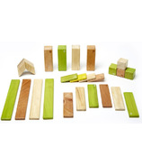 Tegu Magnetic Wooden Block Set - Jungle