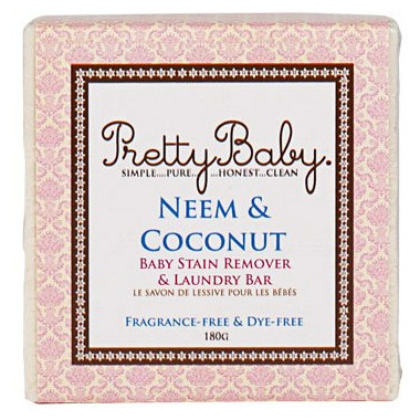 Pretty Neem & Coconut Laundry Bar and Baby Stain Remover