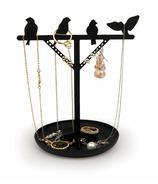 Kikkerland Jewelry Stand Bird