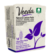 Veeda Natural Cotton Ultra-Thin Day Pads
