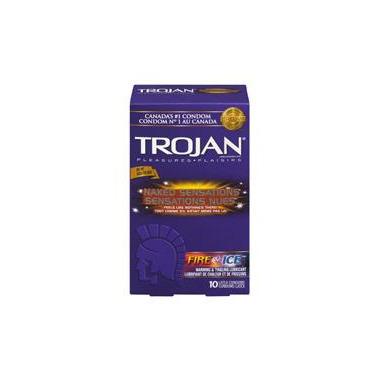 Trojan Naked Sensations Fire & Ice