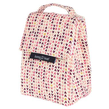 Keep Leaf Lunch Bag Hearts