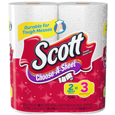 Scott Paper Towels Choose-A-Size