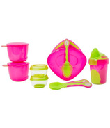 Vital Baby 8 Piece Start Weaning Kit Pink