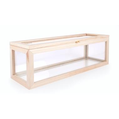 Kikkerland Small Glass Storage Box