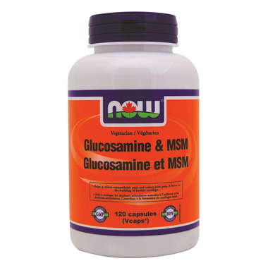 NOW Foods Vegetarian Glucosamine & MSM