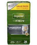 Depend Underwear for Men Maximum Absorbency for Men