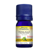 Divine Essence Black Pepper Organic Essential Oil