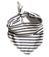 Electrik Kidz Bandana Bib Grey Stripes