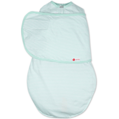 Embe Classic 2-Way Swaddle Mint Stripe