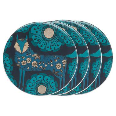 Danica Studio Ceramic Coaster Set Birdland