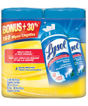 Lysol Disinfecting Wipes Double Pack Spring Waterfall