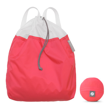 flip & tumble Drawstring Backpack Coral