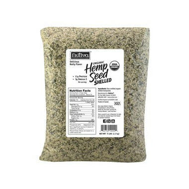 Nutiva Organic Shelled Hemp Seed