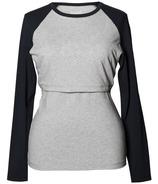 Boob B. Warmer Baseball Sweatshirt with Organic Cotton