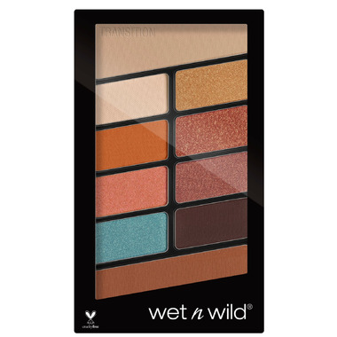 Wet n Wild Color Icon 10 Pan Eyeshadow Palette Not a Basic Peach