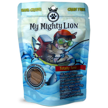 My Mighty Lion Grain Free Soft Cat Treats