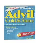 Advil Cold & Sinus Liqui-Gels