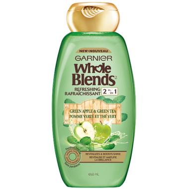Garnier Whole Blends Green Apple Green Tea Refreshing 2-in-1