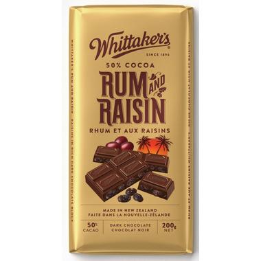 Whittaker\'s Rum & Raisin Chocolate