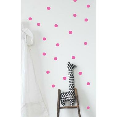 Wee Gallery Wee Cals Hot Pink Dots