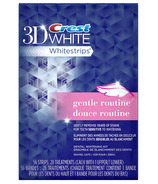 Crest 3D White Whitestrips Gentle Routine Dental Whitening Kit