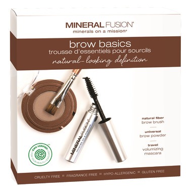 Mineral Fusion Brow Basics Kit