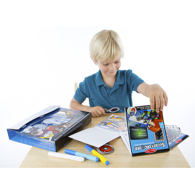 Melissa & Doug Secret Decoder Activity Book Kit On-The-Go