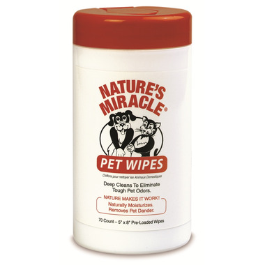 Nature\'s Miracle Pet Bath Wipes