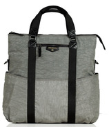 TWELVElittle Unisex 3-in-1 Foldover Tote Grey