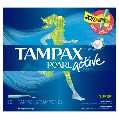 Tampax Pearl Active Tampons Super