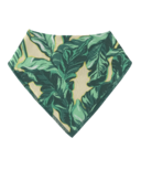 ALWAYSxALWAYS Palm Leaf Baby Bib