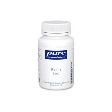 Pure Encapsulations Biotin 8 mg