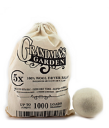 Grandma's Garden Laundry Line 100% Wool Dryer Balls