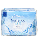 Kleenex Fresh On the Go Wipes 4-Pack