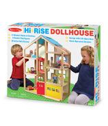 Melissa & Doug Hi-Rise Dollhouse