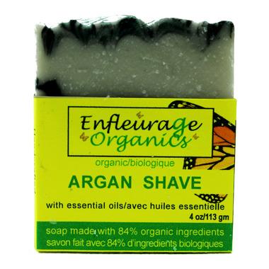 Enfleurage Organics Bar Soap Argan Shave