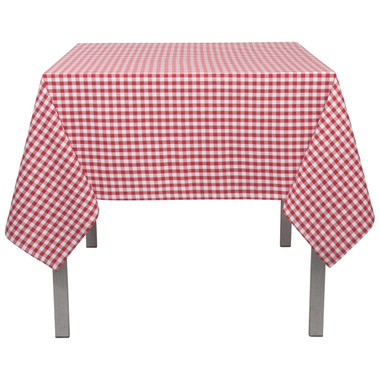 Now Designs Red Gingham Tablecloth