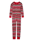 Hatley Beary Xmas Unisex Adult Union Suit