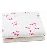 Auggie Pretty With Pink Crib Sheet