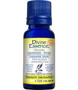 Divine Essence Spike Lavender Organic Essential Oil
