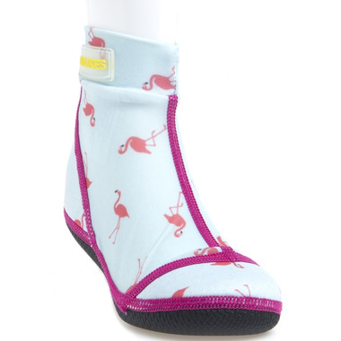 Duukies Beachsocks Jet Flamingo