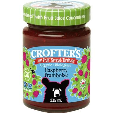 Crofter\'s Organic Raspberry Just Fruit Spread
