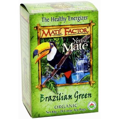 Mate Factor Yerba Mate Organic Brazilian Green Tea